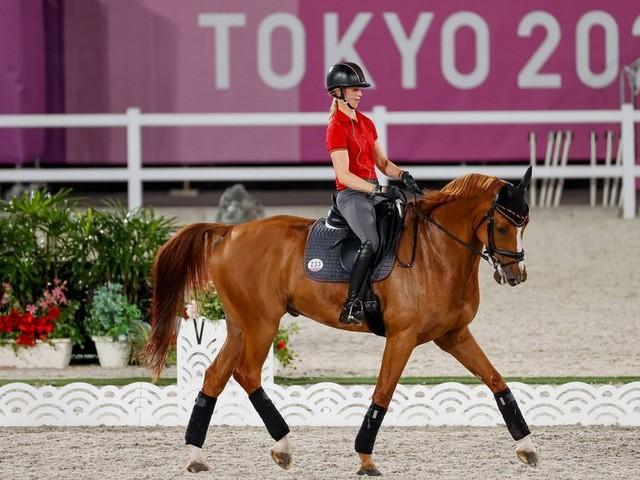 Sandra Auffarth vom RV Ganderkesee geht entspannt in Olympia-Wettkampf