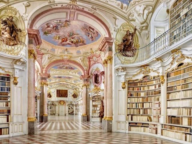 Was Oprah Winfrey mit der Admonter Stiftsbibliothek zu tun hat