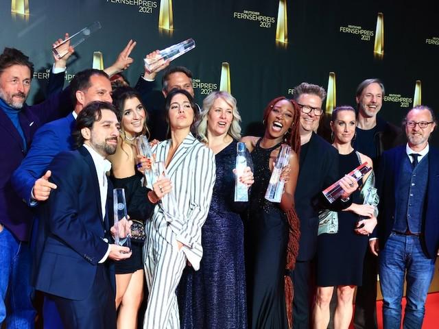 Großes TV-Comeback - Deutscher Fernsehpreis 2021: Wir zeigen Ihnen, wer in welcher Kategorie gewonnen hat