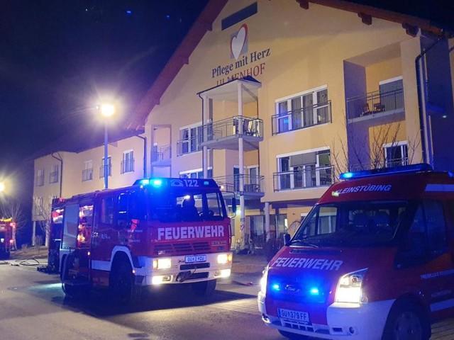 Offene Zündquelle verursachte Feuer in steirischem Pflegeheim