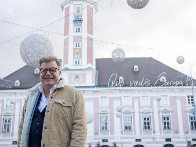 Wahl in St. Pölten: 5 Fragen an Neos-Spitzenkandidat NikolausFormanek
