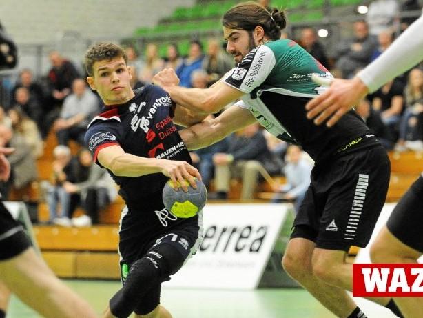 Handball: Zwei lange Auszeiten – Wölfe Nordrhein verlieren gegen Haan