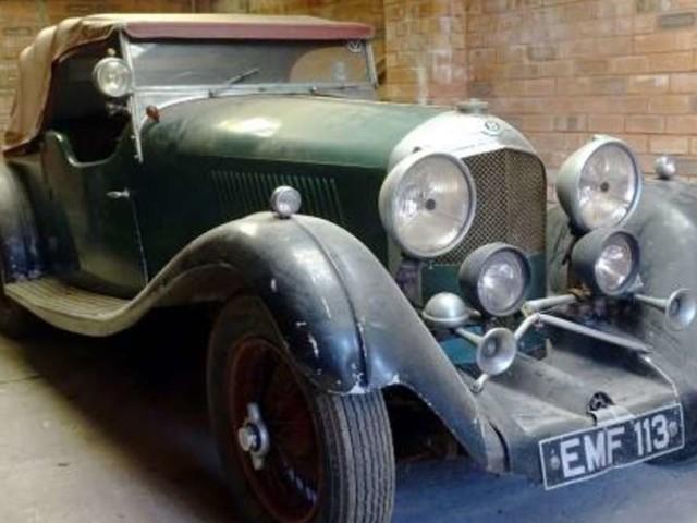 30 Jahre hat sich dieser seltene Vorkriegs-Oldtimer in einer Garage versteckt