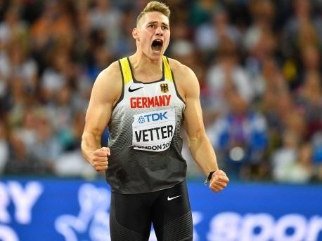 Leichtathletik-WM: Vetter gewinnt Gold im Speerwurf