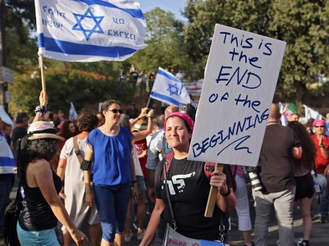 Netanjahus Ende als Premier ist besiegelt