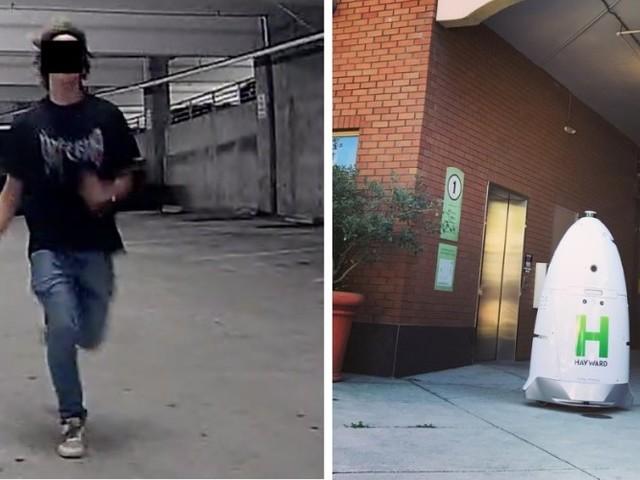 Autonomer Wachroboter verjagt Obdachlose