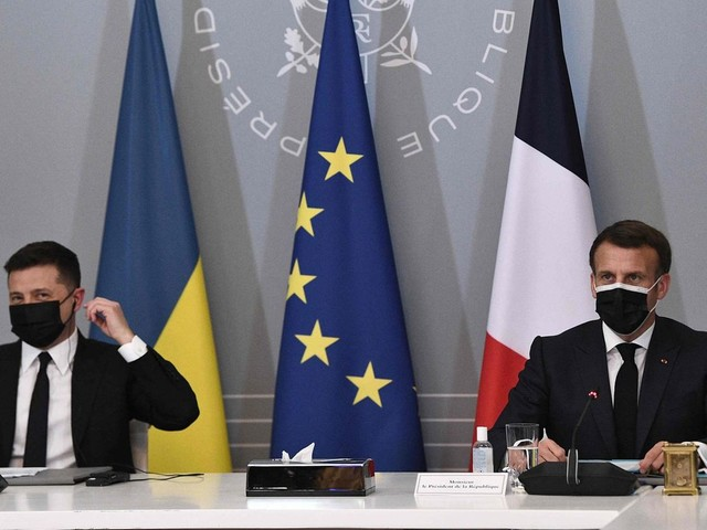 News von heute: Merkel, Macron und Selenskyj fordern russischen Truppenabzug von Grenze zu Ukraine
