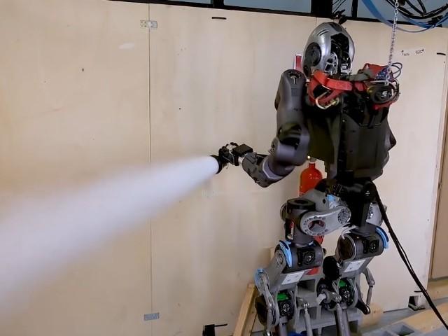 WALK-MAN: Der europäische Feuerwehr-Roboter