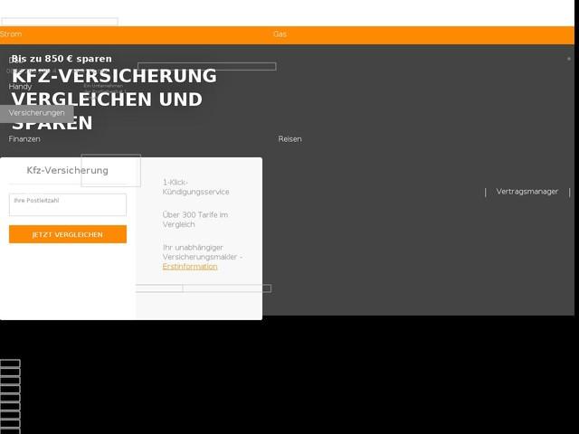 Kfz-Versicherung 2018: Bis zu 850 Euro sparen mit VERIVOX