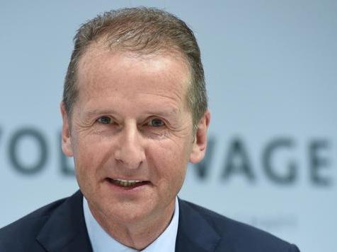 VW macht Herbert Diess zum Konzernchef