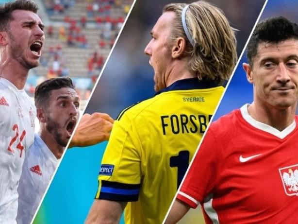 Schweden wirft Polen raus - Spanien auch im Achtelfinale