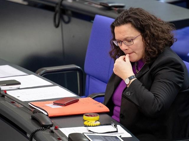 Abschied im September - Um Andrea Nahles' Platz im Bundestag herrscht erbitterter Streit in der SPD