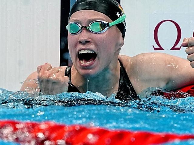 Jubel im Schwimmteam: Köhler holt Bronze über 1500 m Freistil
