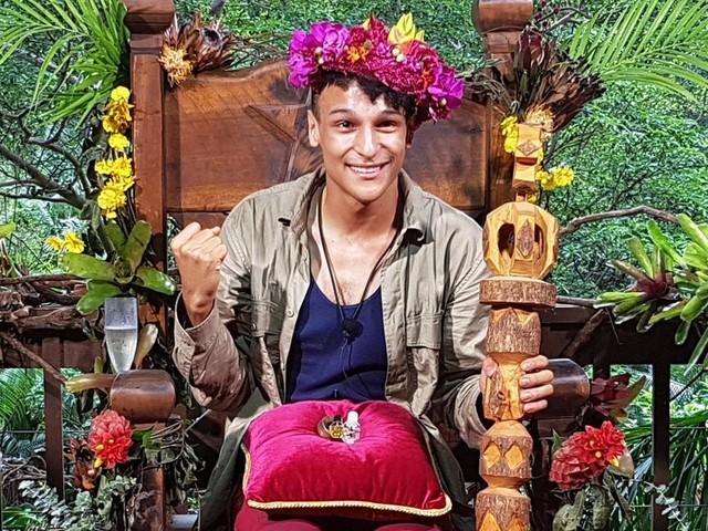 Prince Damien ist der neue Dschungelkönig