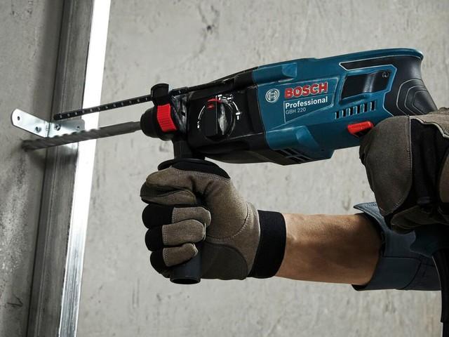 Werkzeug-Deal: Jetzt 46 Prozent günstiger: Der Bosch SDS-Bohrhammer mit Bohrern und Koffer