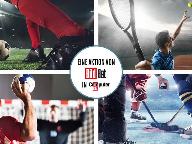 Fußball und Olympia: 10-Euro-Gratiswette – BildBet
