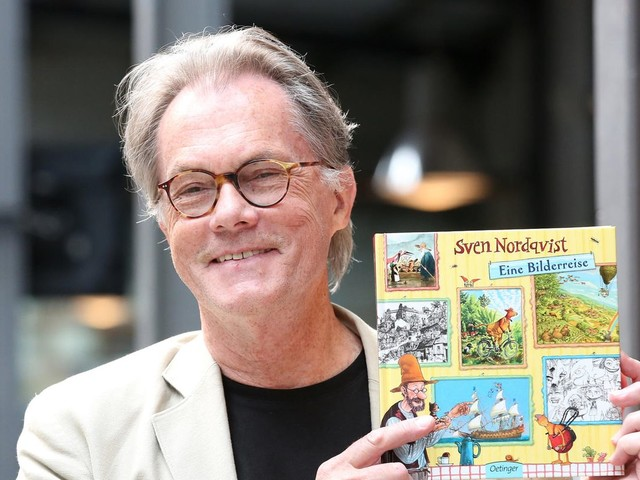 Schwedischer Autor: Der alte Pettersson und der quirlige Findus: Sven Nordqvist wird 75