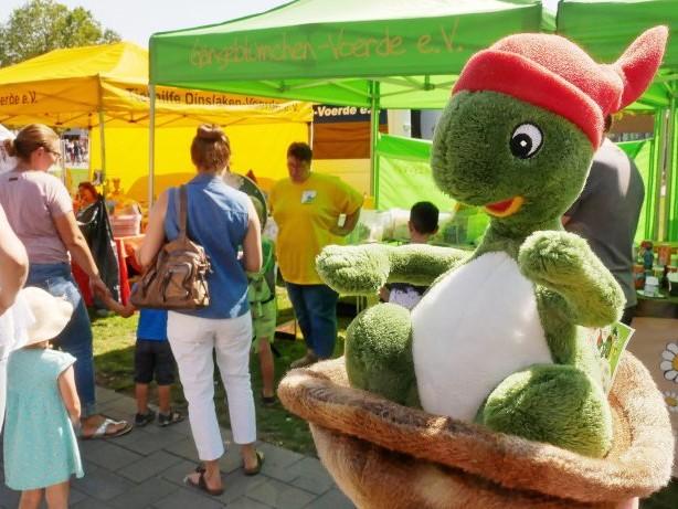 Stadtfest: Vereine bespaßen Kinder bei Jugend-DIN-Tagen in Dinslaken