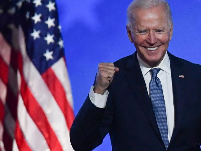 Nicht mehr einzuholen: Biden wird US-Präsident