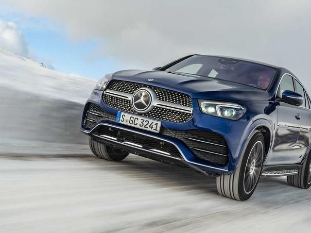 Mercedes GLE Coupé: Facelift mit neuen Motoren und optisch aufpoliert
