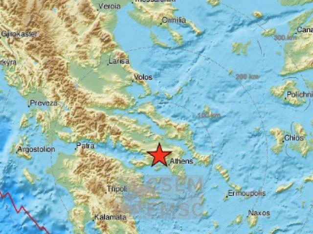 Erdbeben der Stärke 5,1 in der Nähe von Athen