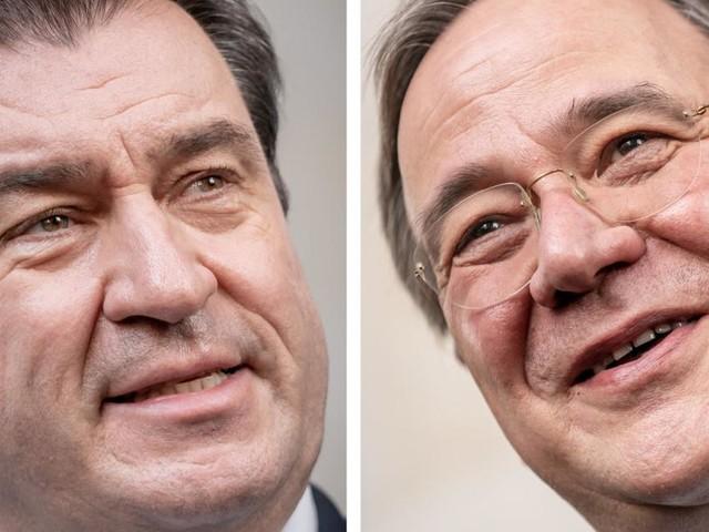 Söder gegen Laschet: Machtkampf in deutscher Union eskaliert