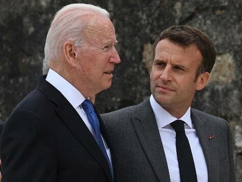 Biden und Macron vereinbaren persönliches Treffen