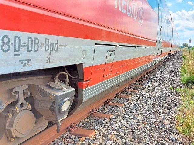 Unfall am Bahnübergang: mit Blechschaden davongekommen