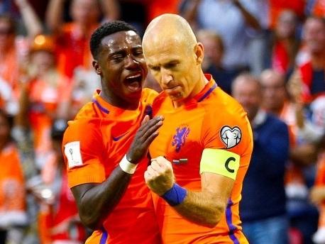 Sieg gegen Bulgarien: Niederlande wahren Minimalchance auf WM in Russland