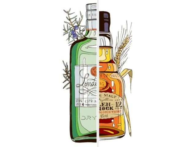 Gin oder Whisky?