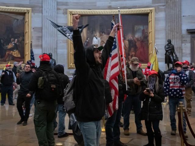 Washington: Sturm aufs Kapitol: Erstes Urteil gesprochen