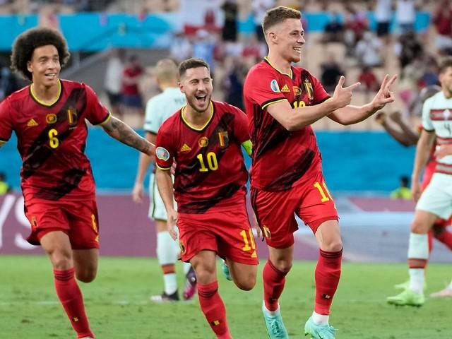 Titelverteidiger Portugal raus: Traumtor von BVB-Duo ist Belgiens Trumpf