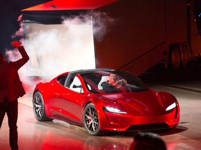 Der neue Tesla Roadster: 400Kmh, 1000Km Reichweite