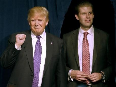 Donald Trump ist zum neunten Mal Opa geworden