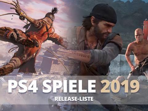 PS4 Spiele 2019: Release-Liste mit Terminen der PS4 Games