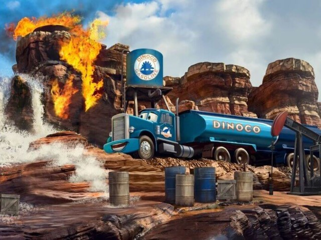 """Disneyland Paris enthüllt weitere Details zu neuer Themenfahrt """"Cars Route 66 Road Trip"""" für 2021"""