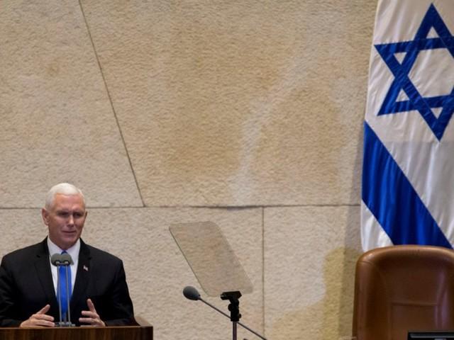 Pence ruft Palästinenser zu Friedensverhandlungen auf