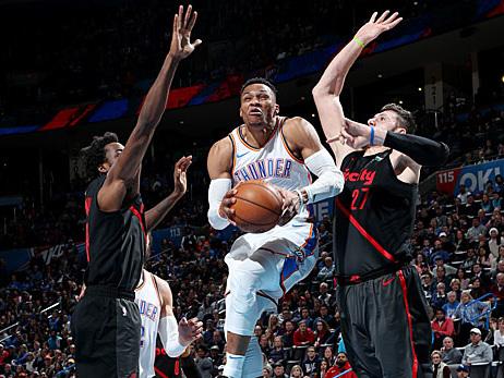 NBA: Westbrook und George drehen auf - Thunder mit nächstem Sieg