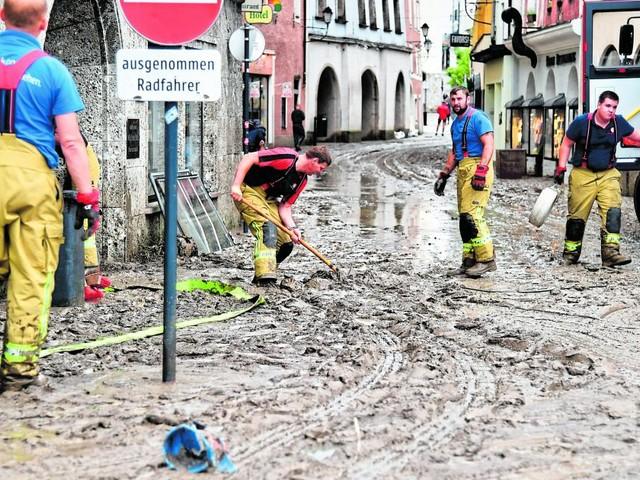 Klimaforscher: Sturzfluten wie in Hallein werden öfter auftreten