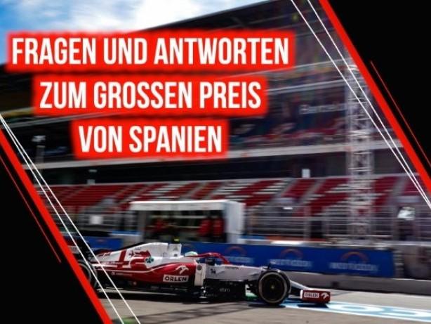 Formel 1 in Spanien: Hamilton und Verstappen im Fokus