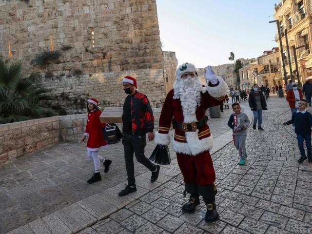 Andere Weihnachten in Jerusalem