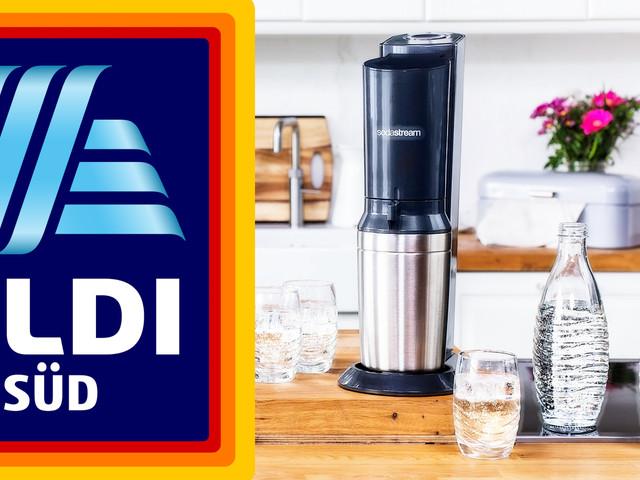 Sprudler mit drei Glaskaraffen im Angebot: Sodastream Crystal 2.0 bei Aldi Süd