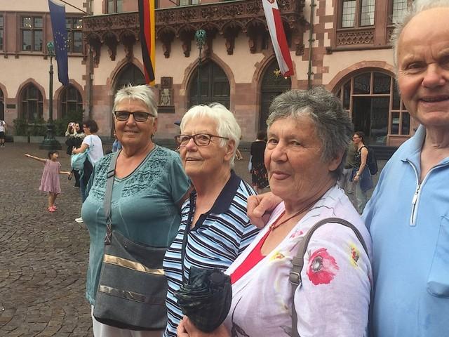 Als Tourist von Steinau an der Straße auf den Römerberg: Frankfurt als Reiseziel