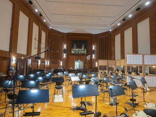 Tonstudio für Filmmusik: Ein Raum, in dem man alles hört