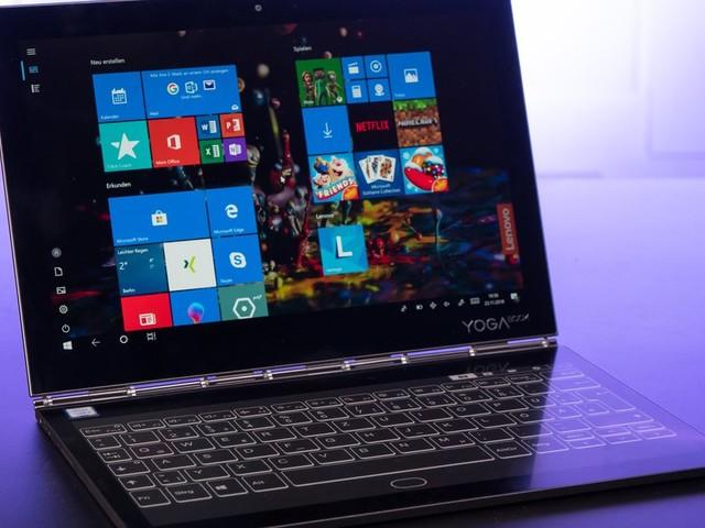 Lenovo Yoga Book C930 Im Test Notebook Tablet Und Ebook Reader In
