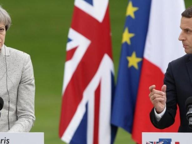 Britisch-französischer Gipfel: May und Macron vereinbaren mehr Grenzschutz vor Migranten