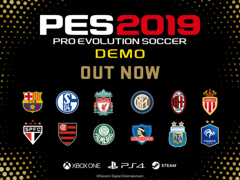 FIFA 19 Konkurrent: PES-2019-Demo ab sofort zum Download