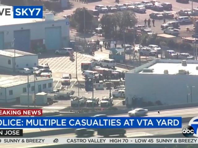 Schüsse in Bahndepot – neun Tote in San José