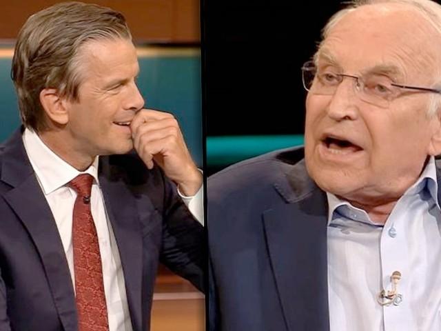 """- Stoiber redet sich bei Lanz in Rage: """"Sie glauben doch, was sie wollen!"""""""
