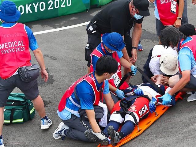 Das war die Nacht in Tokio: Schwere Stürze überschatten BMX-Rennen